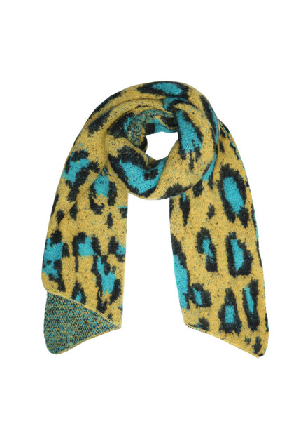 Fashion-Click Sjaal Happy Leopard