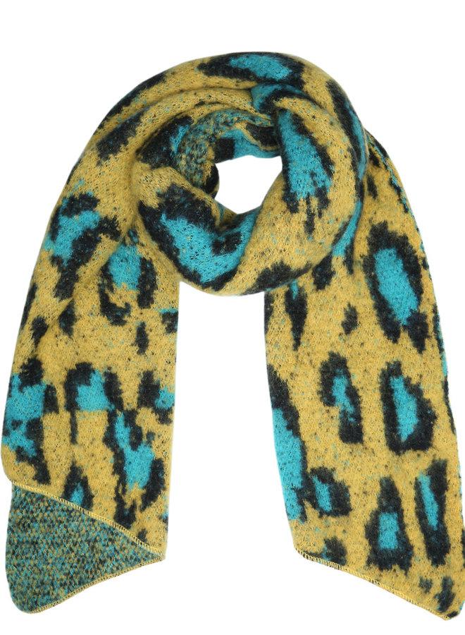 Sjaal Happy Leopard