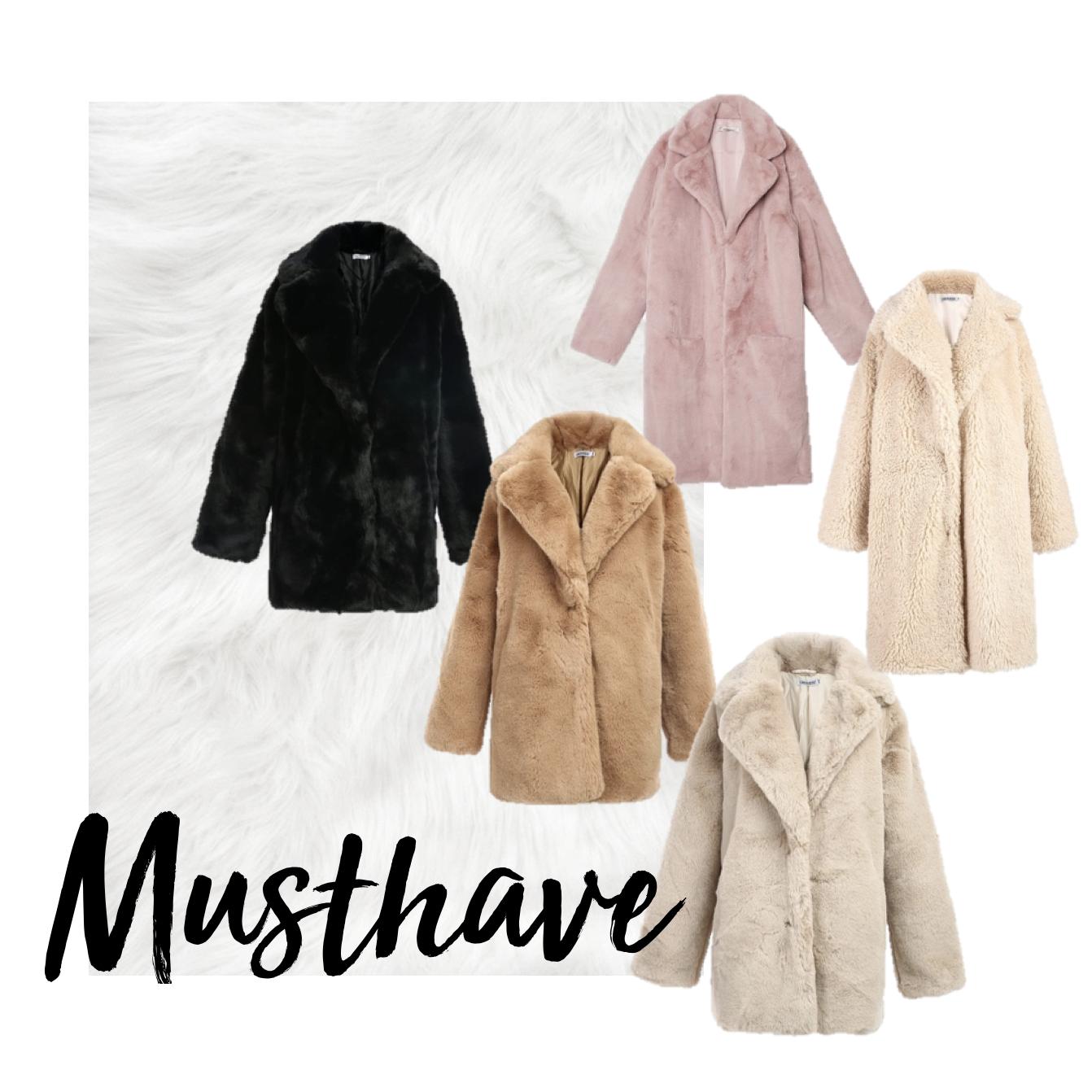 faux fur jassen nepbont herfstlook trend 2019 najaar