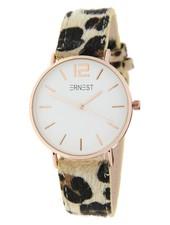 Fashion-Click Ernest Horloge Leopard Spots Rose