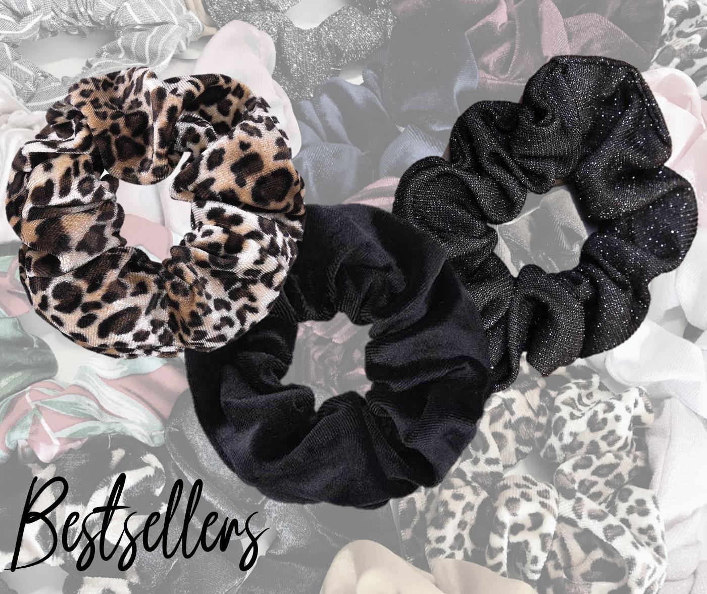scrunchies-bestseller-zwart-glitter-velvet-luipaard