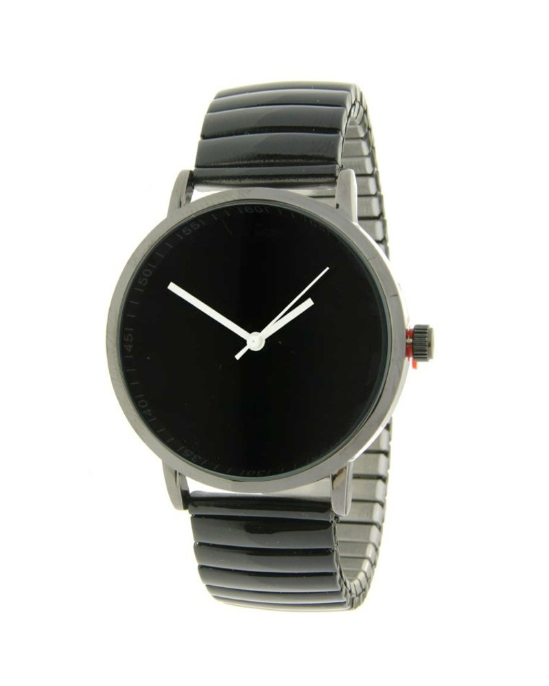 Fashion-Click Horloge Black Design