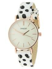 Fashion-Click Horloge Mini Cheetah Off White