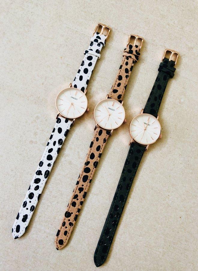 Horloge Mini Cheetah Green