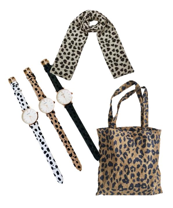 leopard-musthave-items-sint-cadeau-horloge-sjaal-canvas-tas