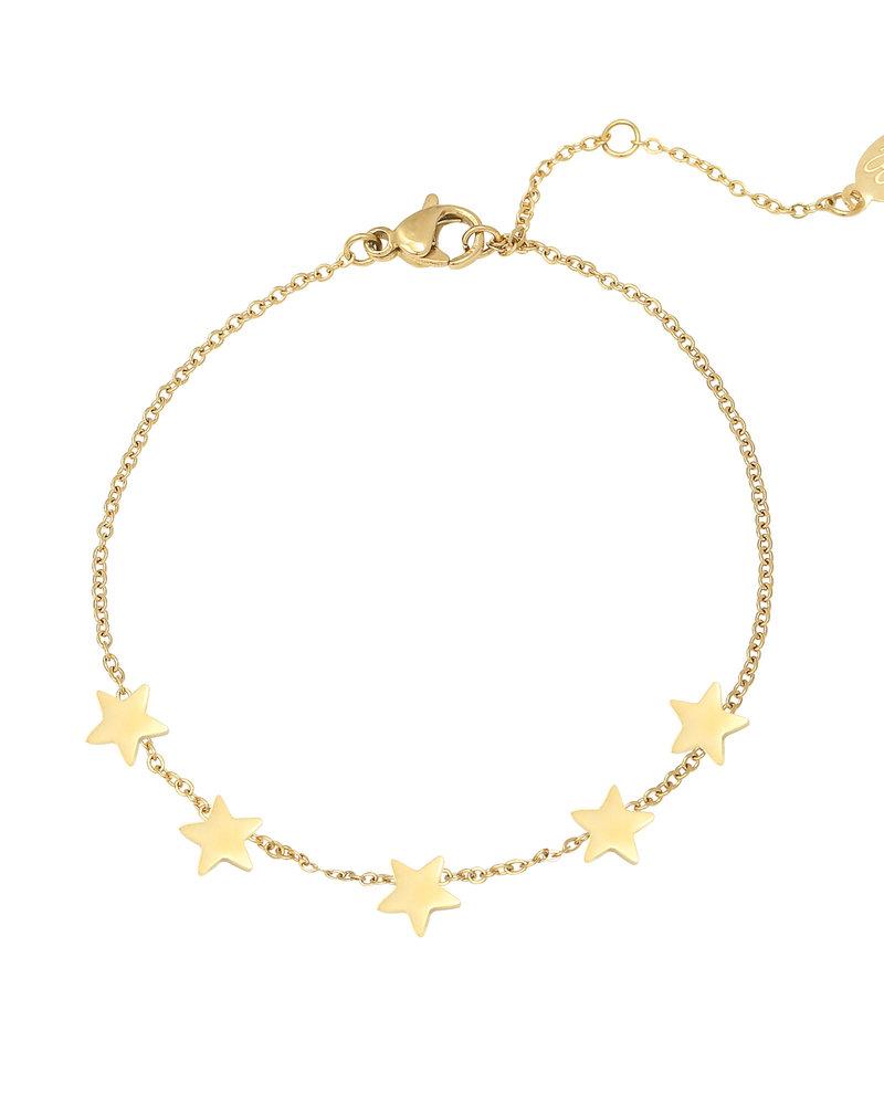 Fashion-Click Armband 5 Stars