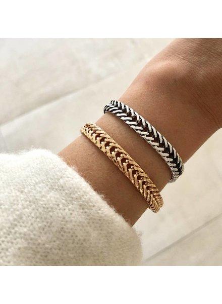 Fashion-Click Armband  Rough Chain Girl