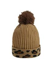 Fashion-Click Beanie Leopard