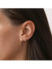 Fashion-Click Oorbellen Little Zircon Hoops