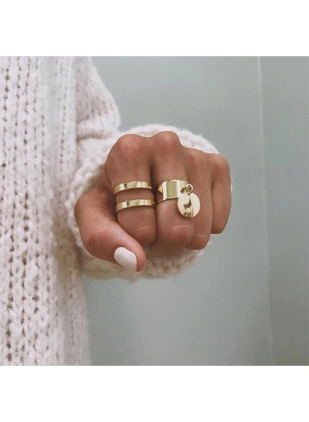 Fashion-Click Ringen Setje My Daily Basics