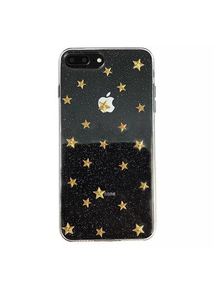 Fashion-Click Iphone Hoesje Gouden Sterren