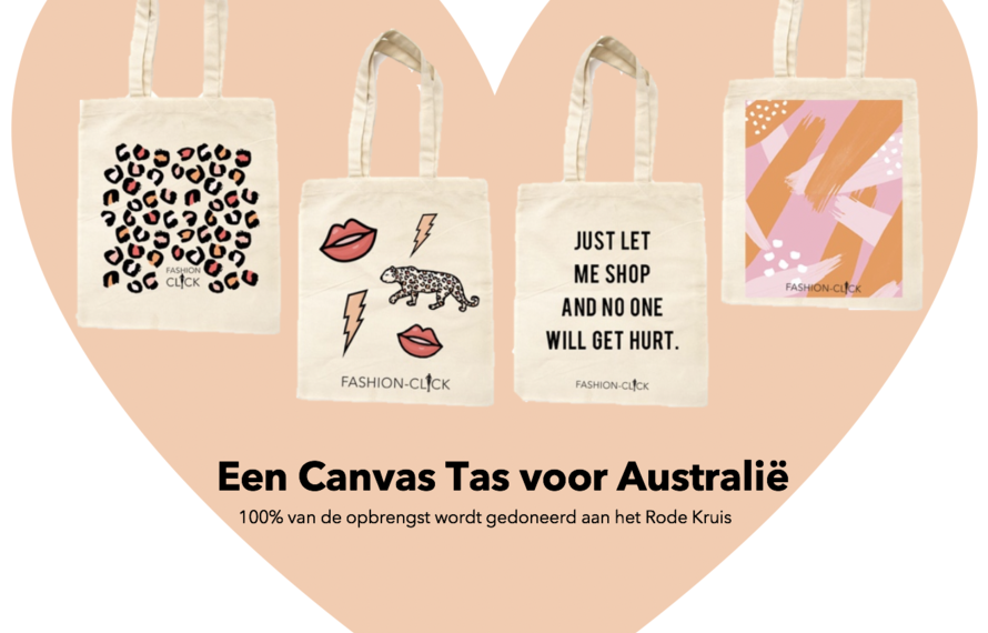 Een canvas tas voor Australië