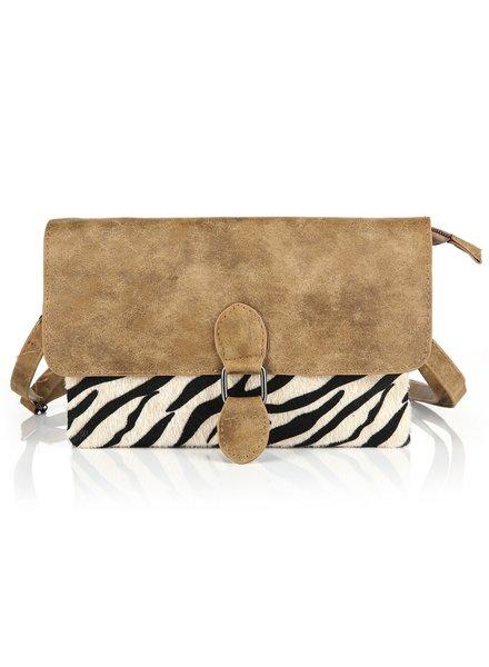 Fashion-Click Tasje My Favorite Zebra