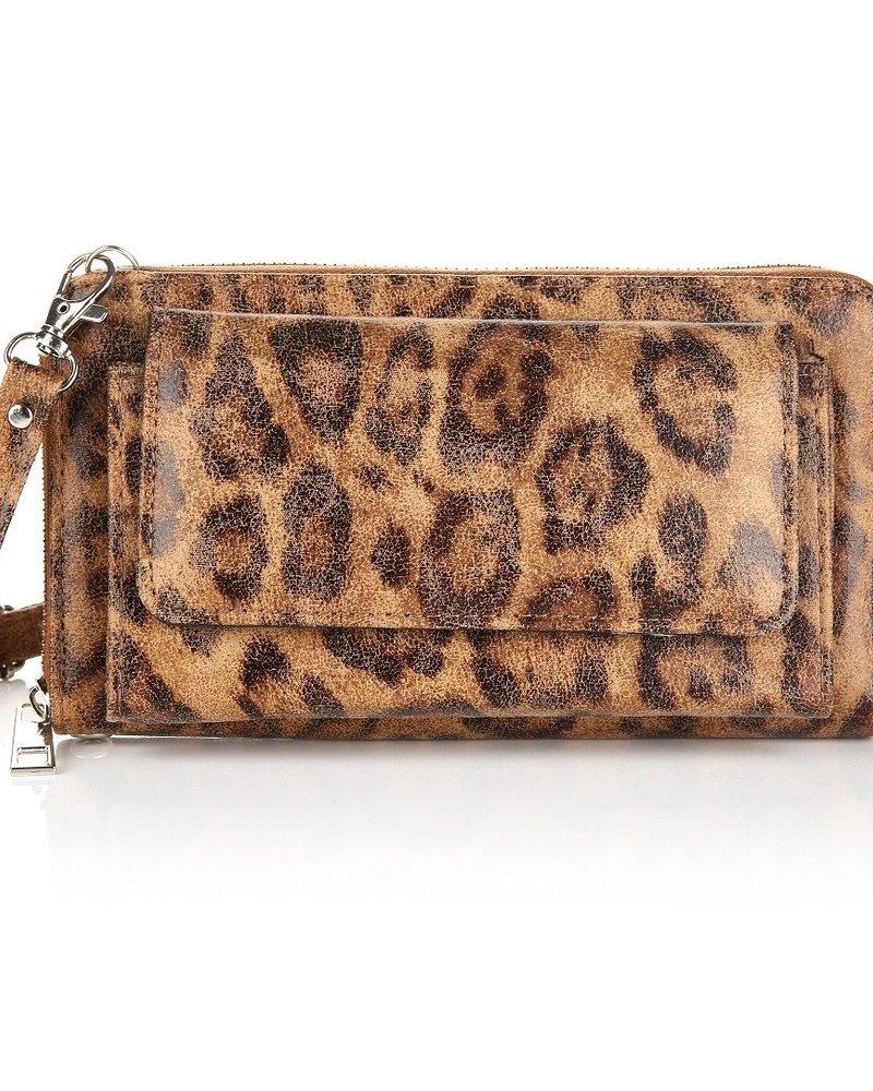 Fashion-Click Wallet Bag Leopard