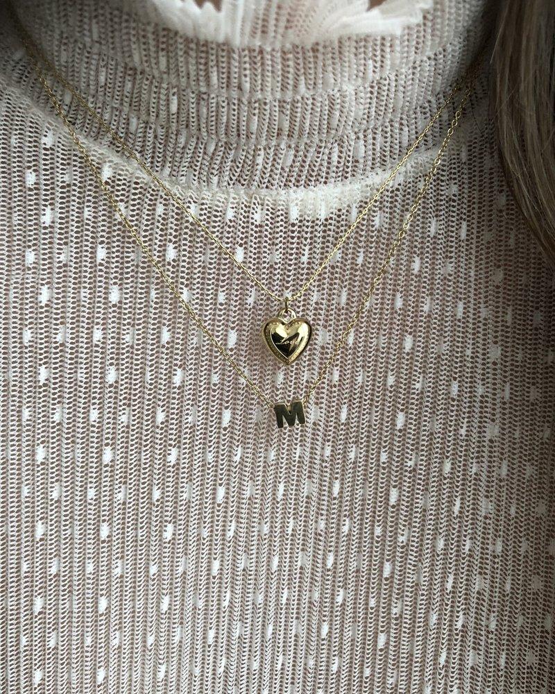 Fashion-Click Ketting Love Heart