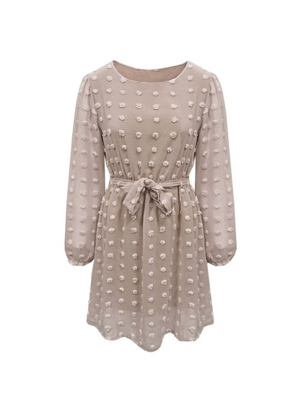 Fashion-Click Jurkje My Favorite Polkadots Beige