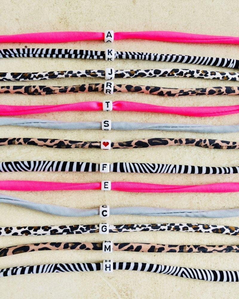 Fashion-Click Letter Armband