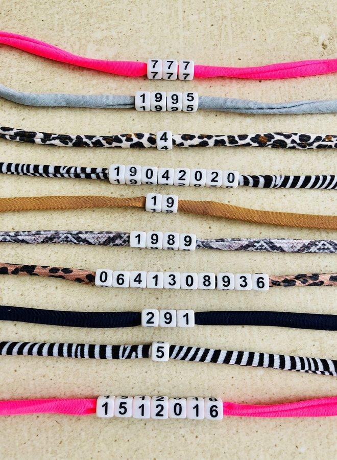Cijfer Armband