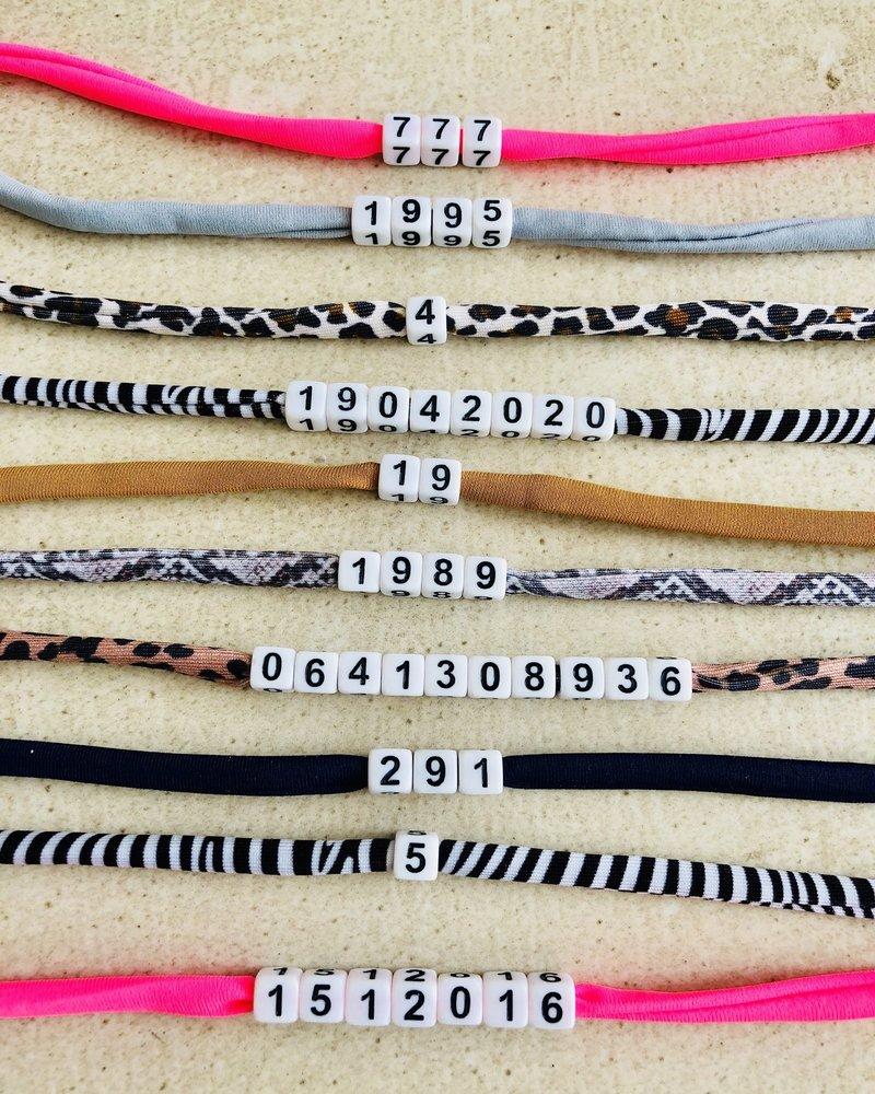 Fashion-Click Cijfer Armband