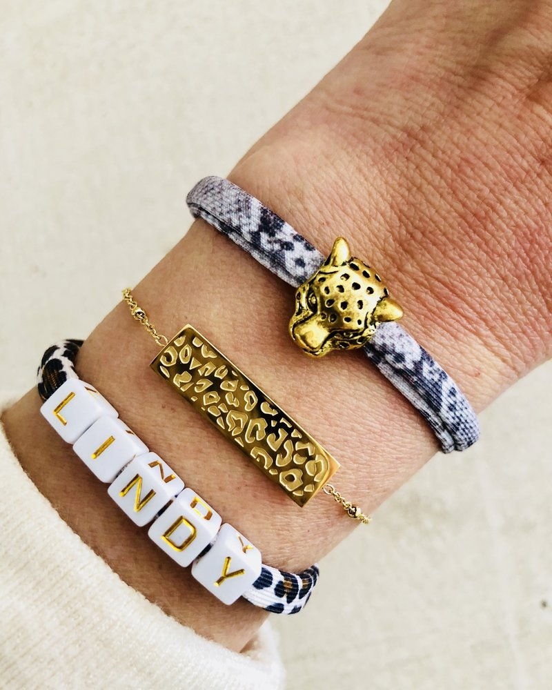 Fashion-Click Naam  Armband Deluxe