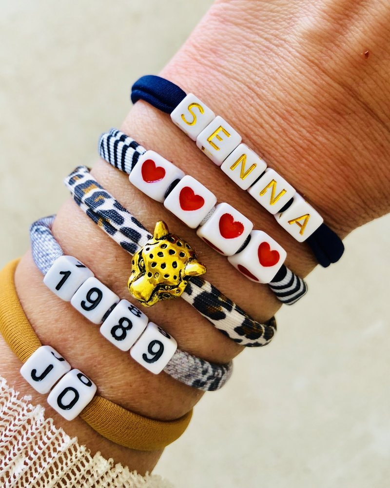 Fashion-Click Armband Leopard Head