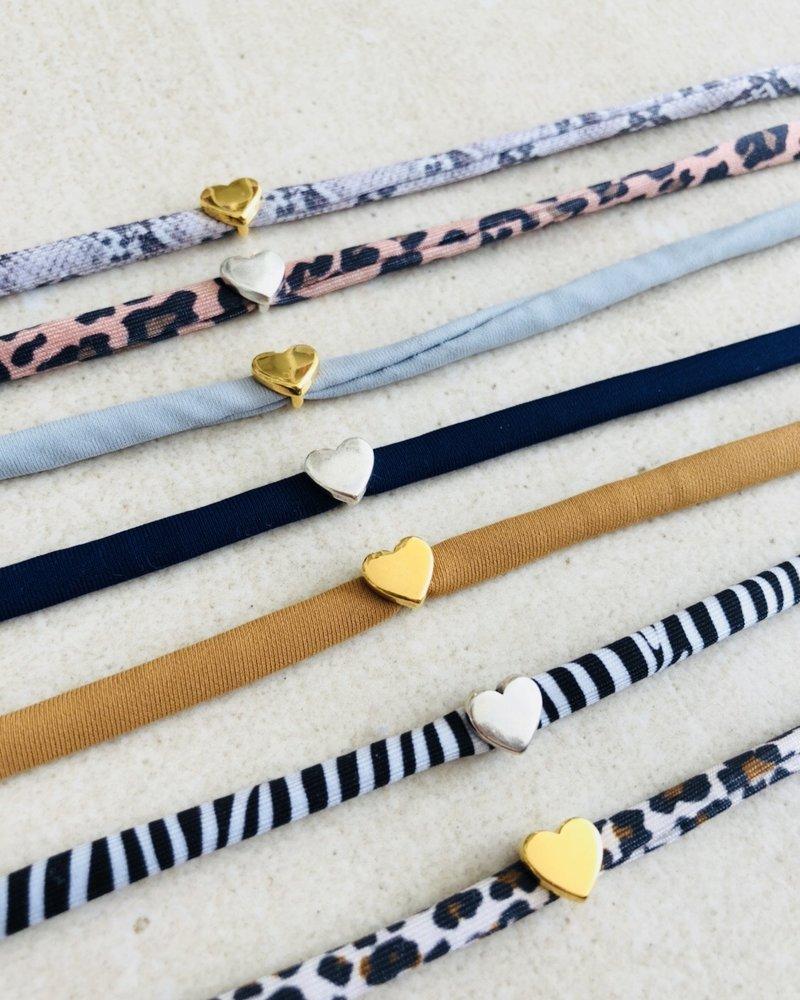 Fashion-Click Armband Heart Deluxe