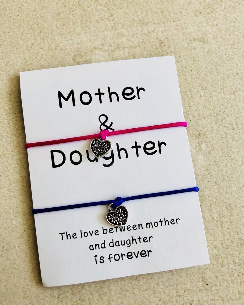 Fashion-Click Armbanden Setje Mother & Daughter