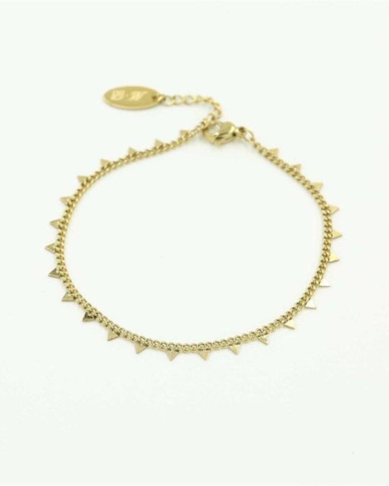 Fashion-Click Armband Tiny Triangles