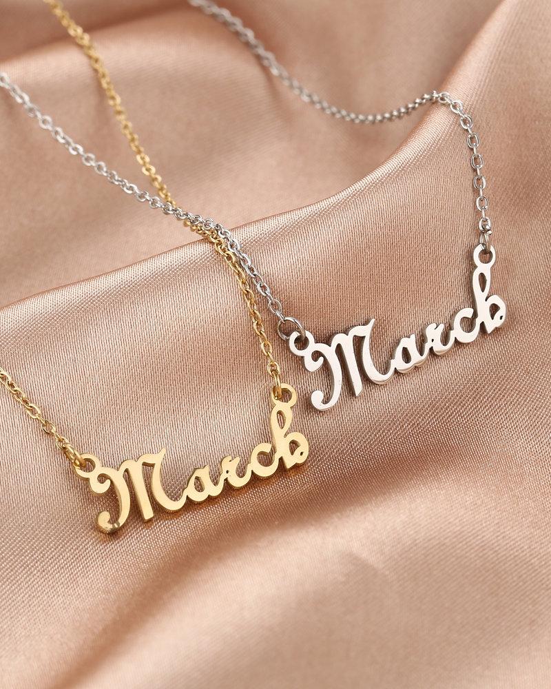Fashion-Click Maand Ketting