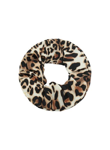 Fashion-Click Scrunchie Leopard