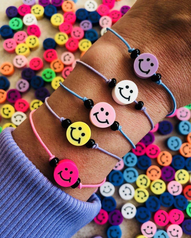 Fashion-Click Armband Smiley