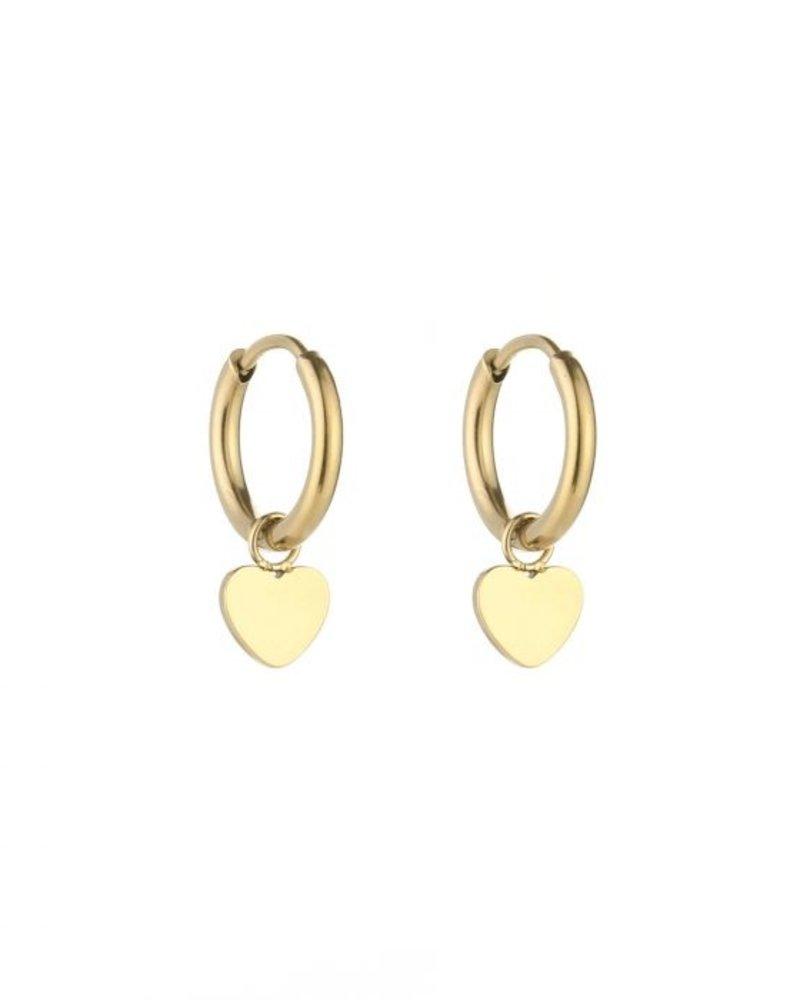 Fashion-Click Oorbellen Little Hearts