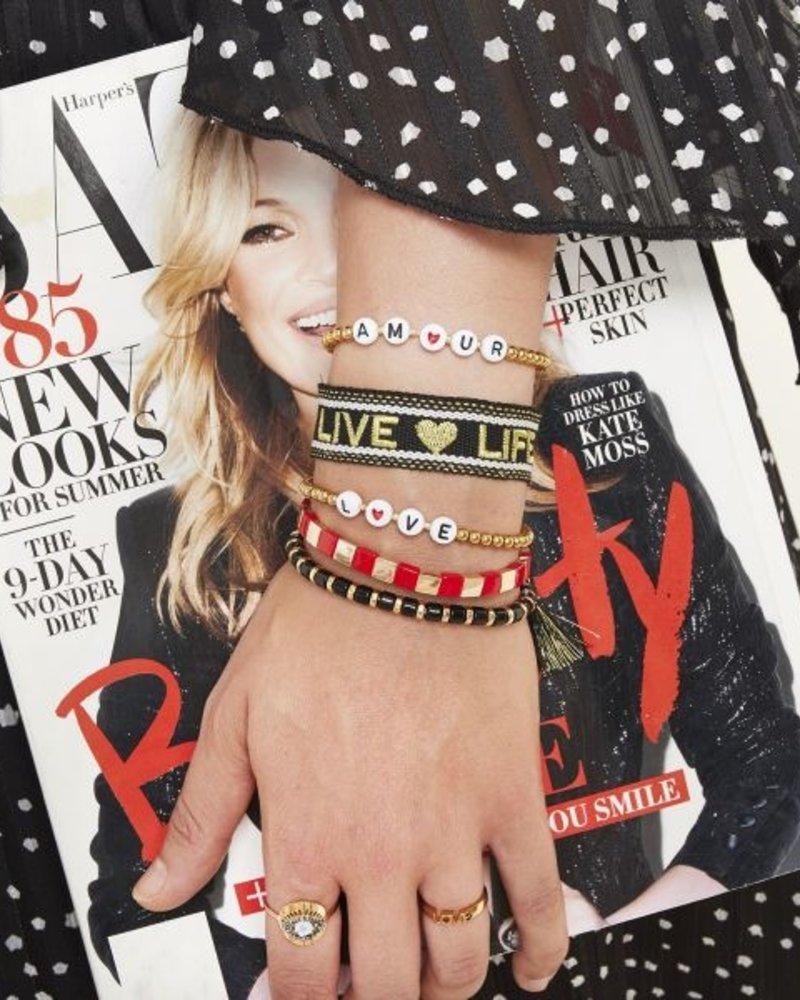 Fashion-Click Armband Amour Beads