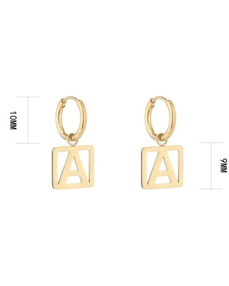 Fashion-Click Oorbellen New Initials