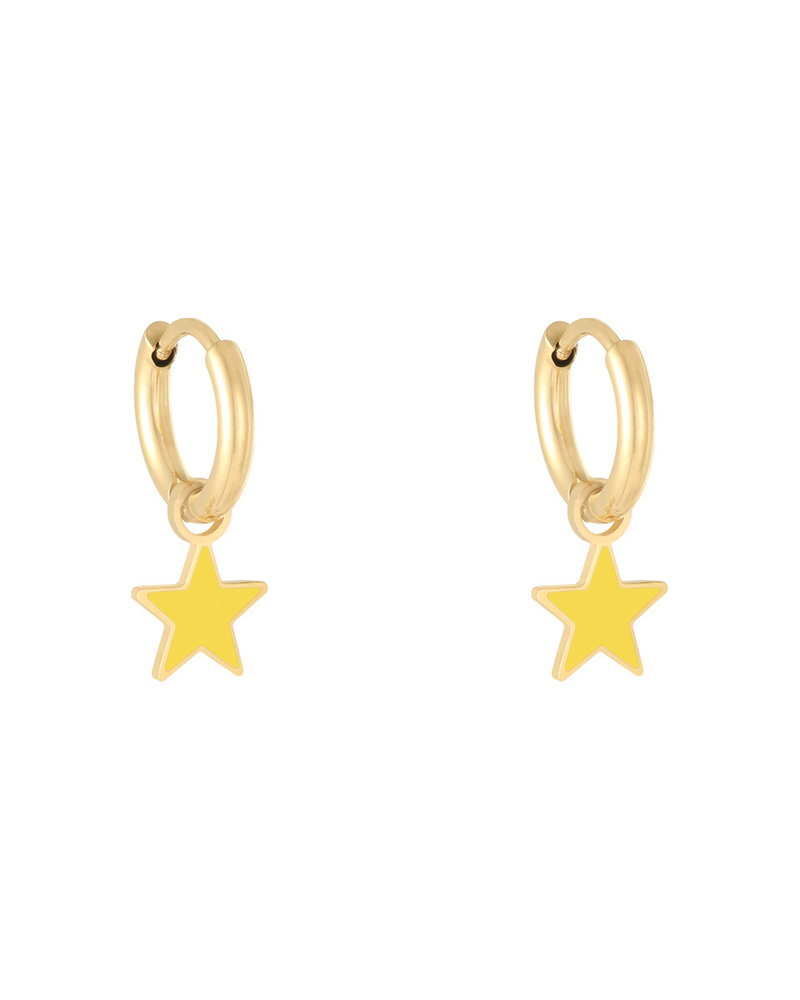 Fashion-Click Oorbellen Candy Star