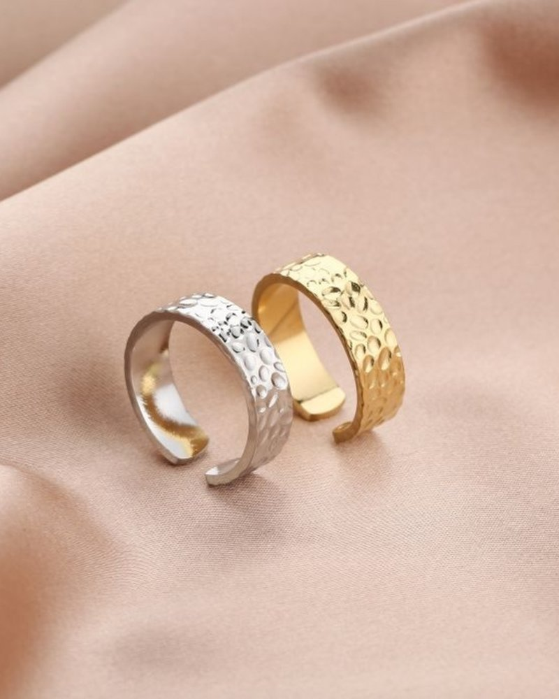 Fashion-Click Ring Leopard Spots
