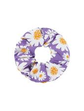 Fashion-Click Scrunchie Daisy Paars