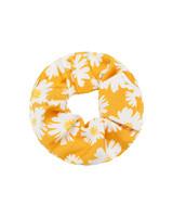 Fashion-Click Scrunchie Daisy Geel