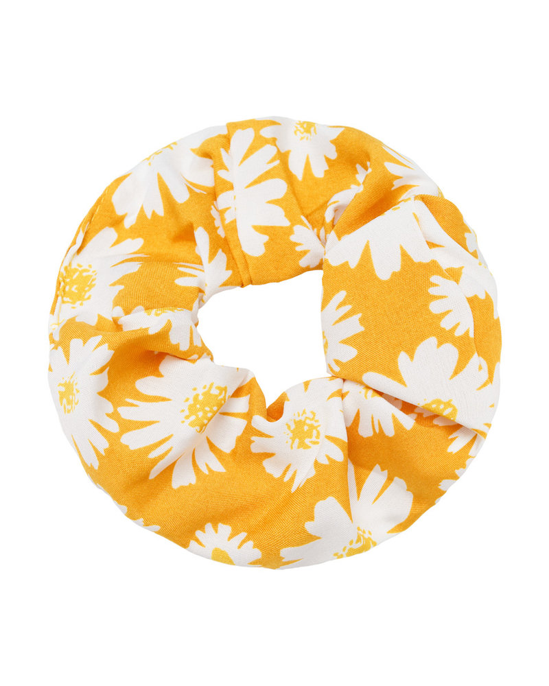 Fashion-Click Scrunchie Daisy Geel