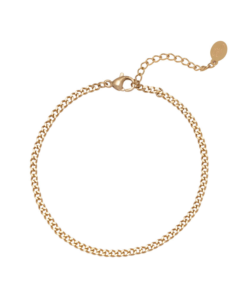Fashion-Click Schakelarmband Tiny Chains
