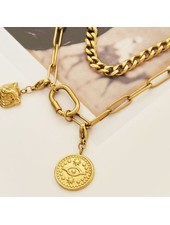 Fashion-Click Bedel Coin Eye