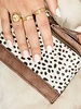 Fashion-Click Portemonneetje Cheetah Bruin