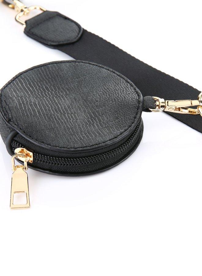 Multi Tas Pochette Zwart