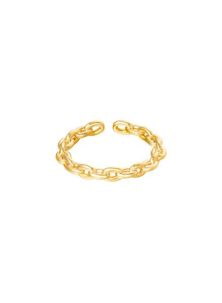 Fashion-Click Ring Mini Open Chain
