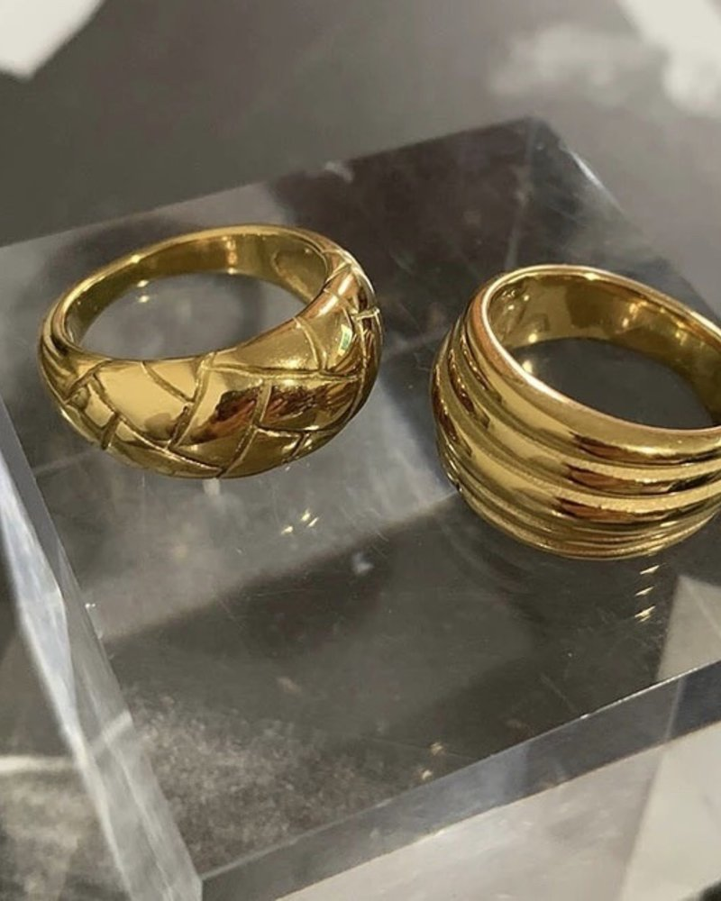 Fashion-Click Ring Braided