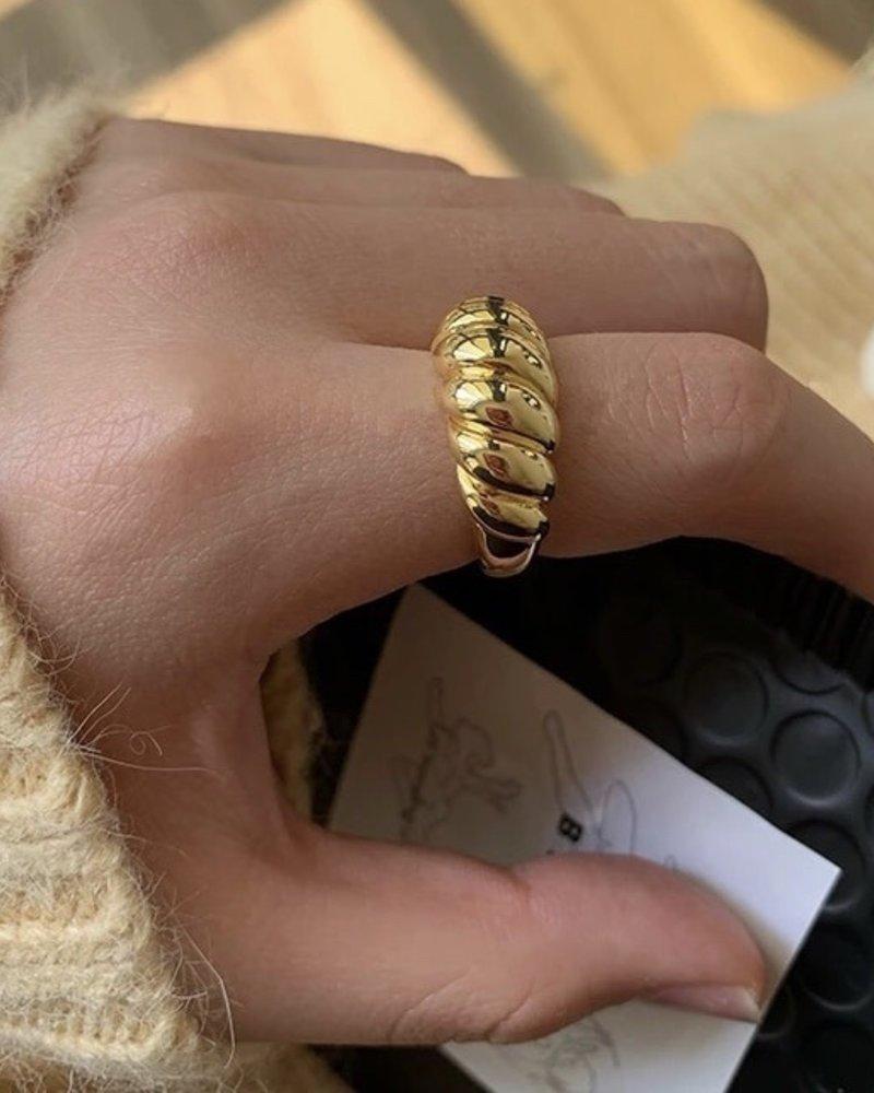 Fashion-Click Ring Baque