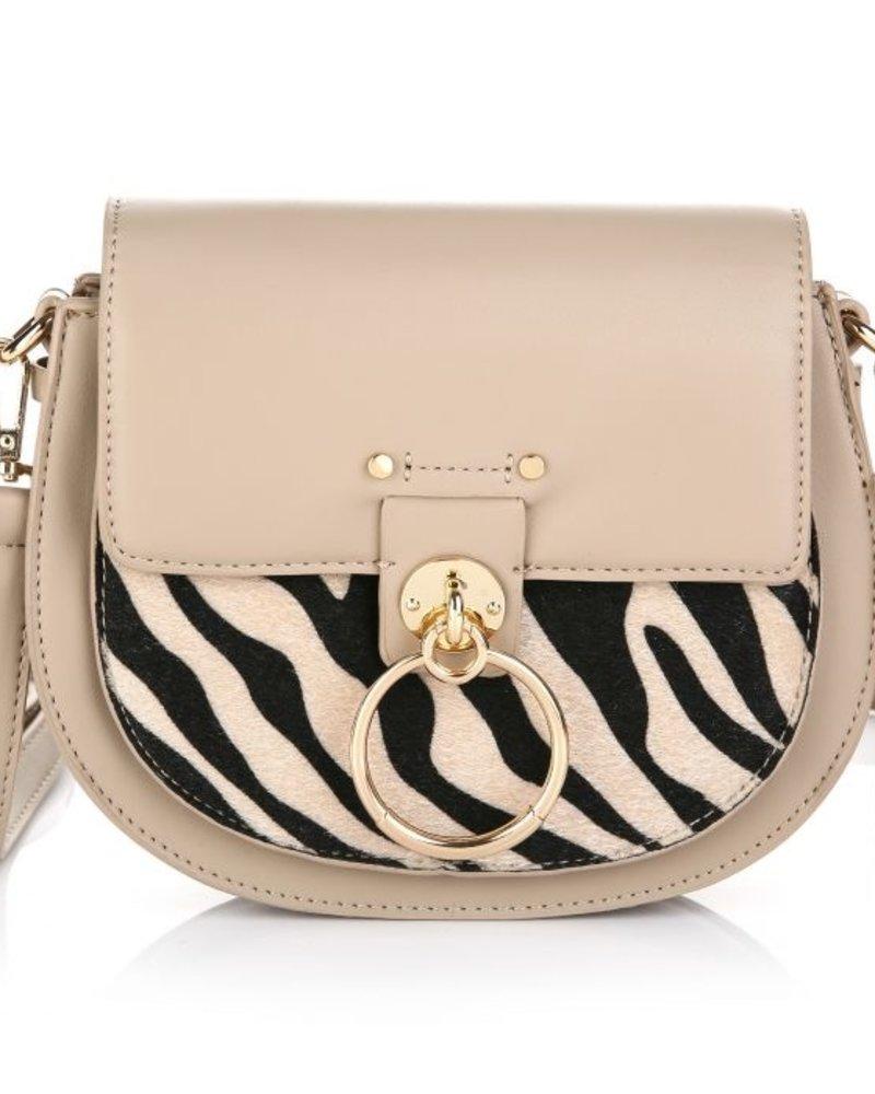 Fashion-Click Tas Nina Nude Zebra