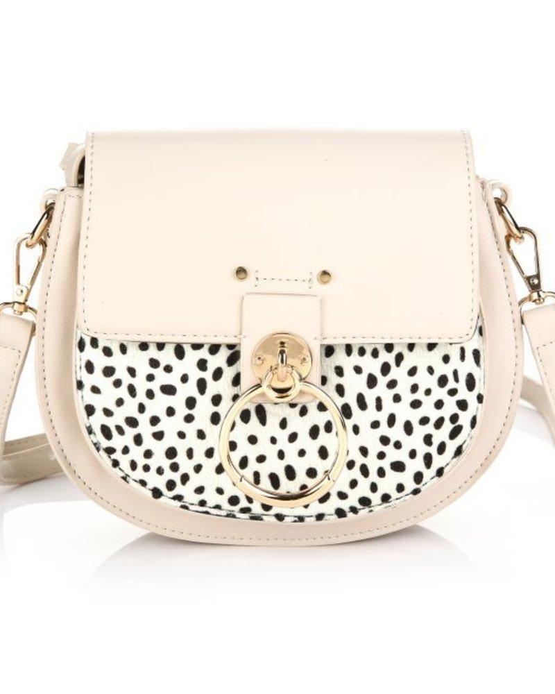 Fashion-Click Tas Nina Cheetah Beige