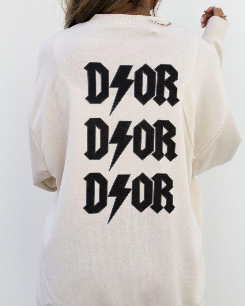 Fashion-Click Sweater Dor Beige