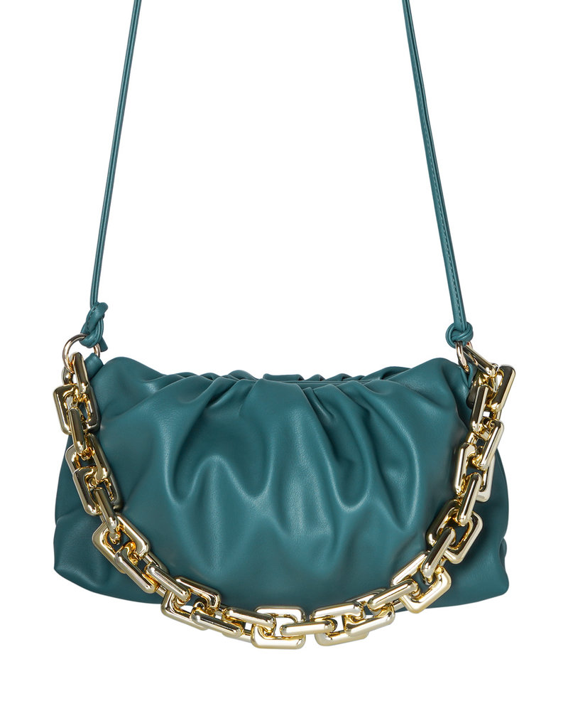 Fashion-Click Tas The Chain Groen